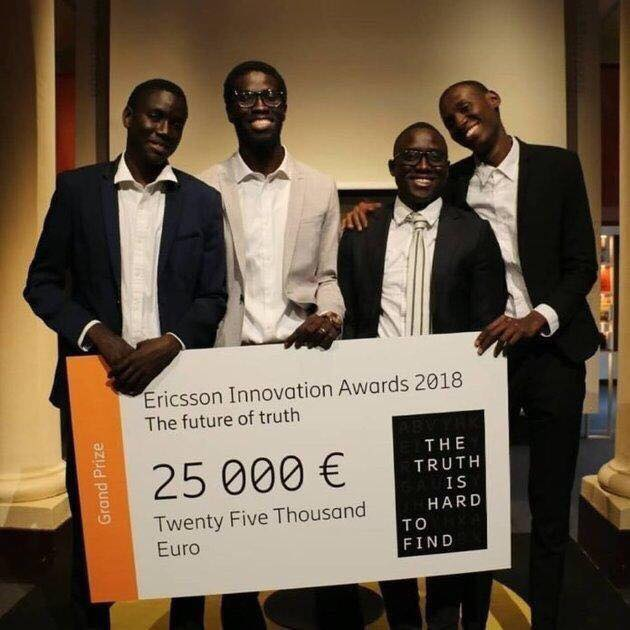 ericsson innovation awards eia 2018 4 tudiants s n galais remportent le 1er prix. Black Bedroom Furniture Sets. Home Design Ideas